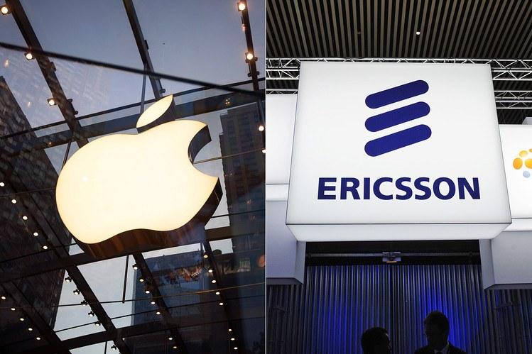 Apple y Ericsson