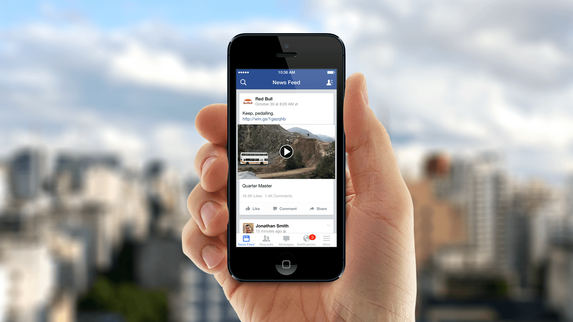 Facebook prueba su nueva característica 3