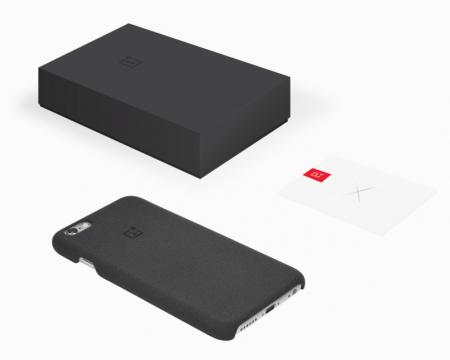 Funda y nota del OnePlus X