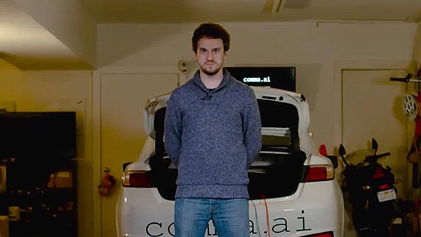 George Hotz prepara auto que podrá conducirse a sí mismo 2