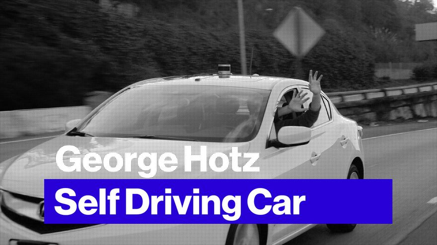 George Hotz prepara auto que podrá conducirse a sí mismo 3