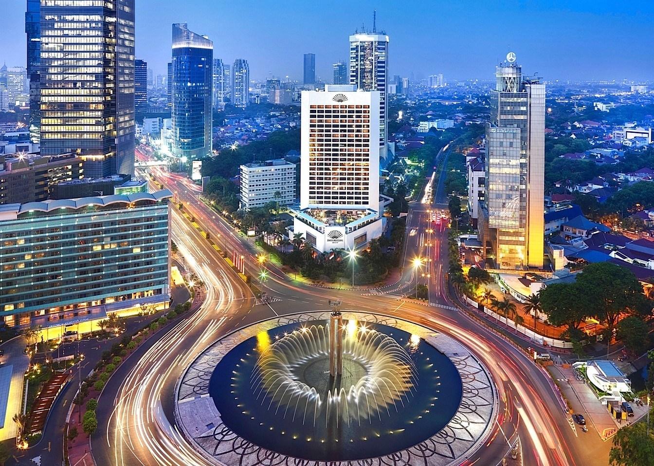Jakarta, capital de Indonesia