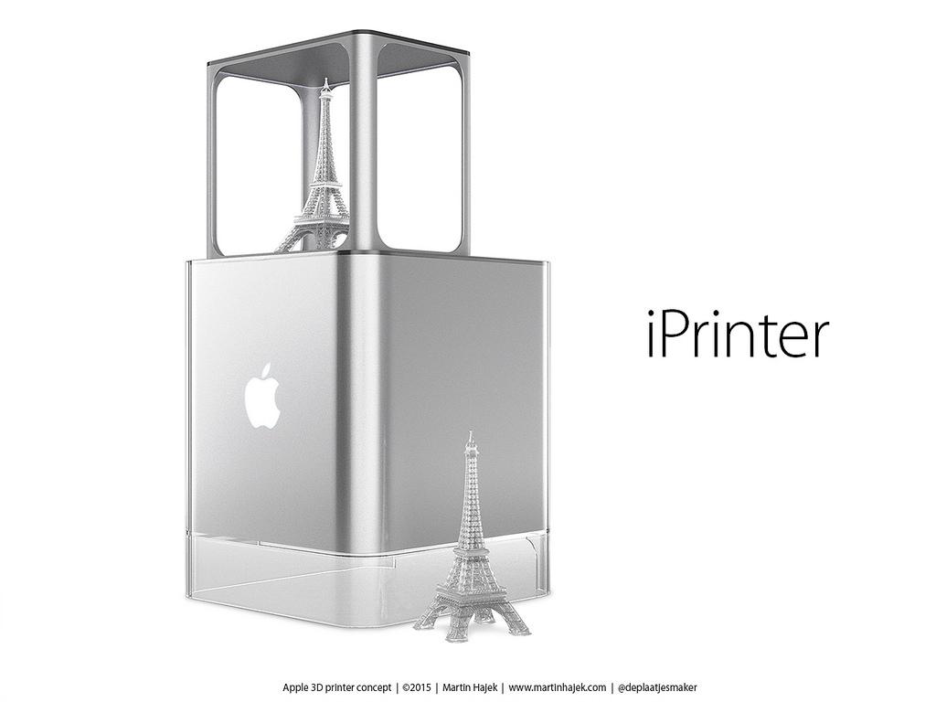 La impresora 3-D de Apple