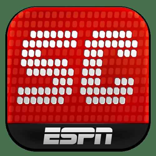 Nueva actualización de la aplicación de ESPN