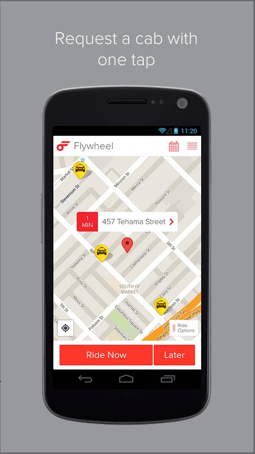 aplicación llamada Flywheel