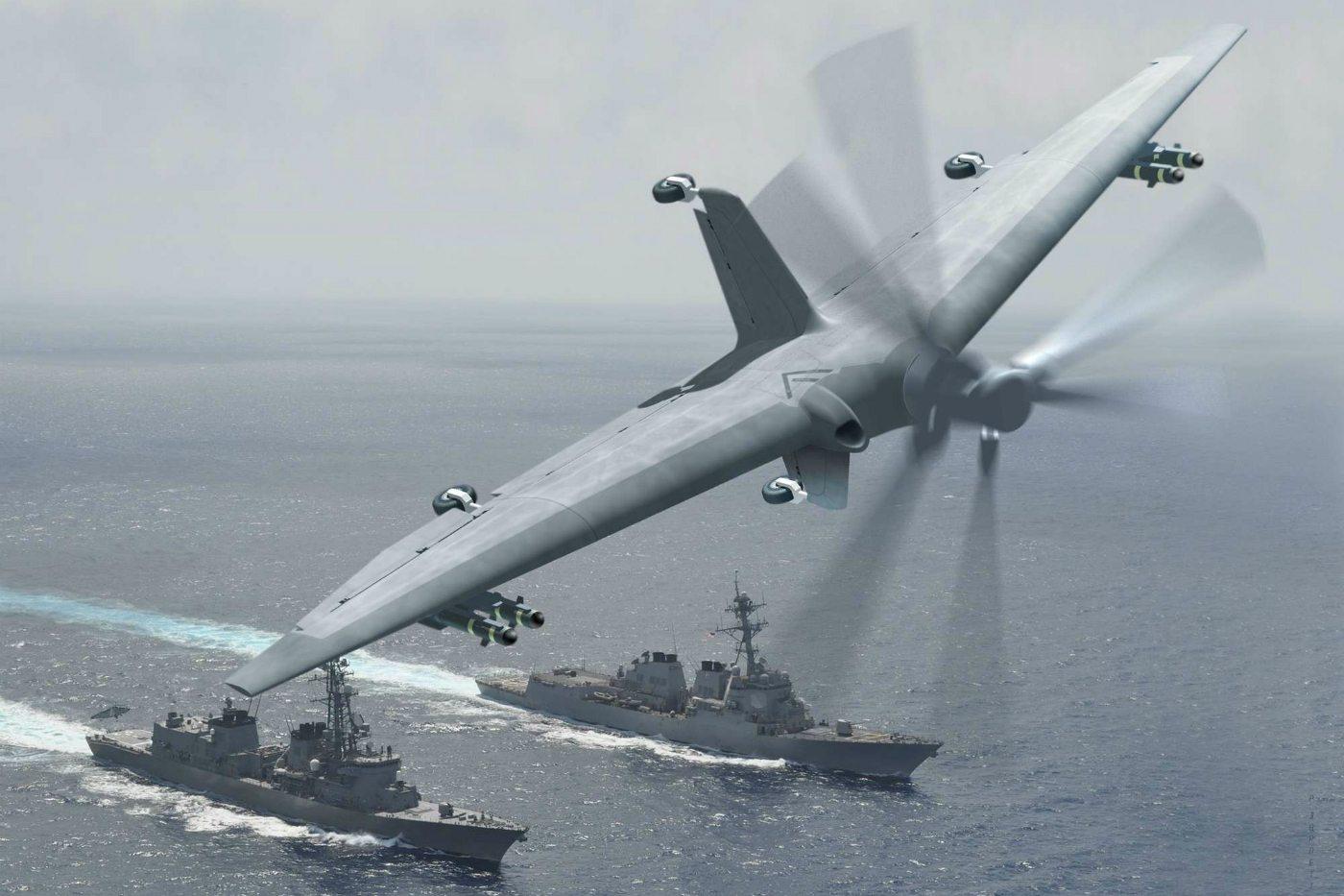 el diseño que actualmente tiene este nuevo drone
