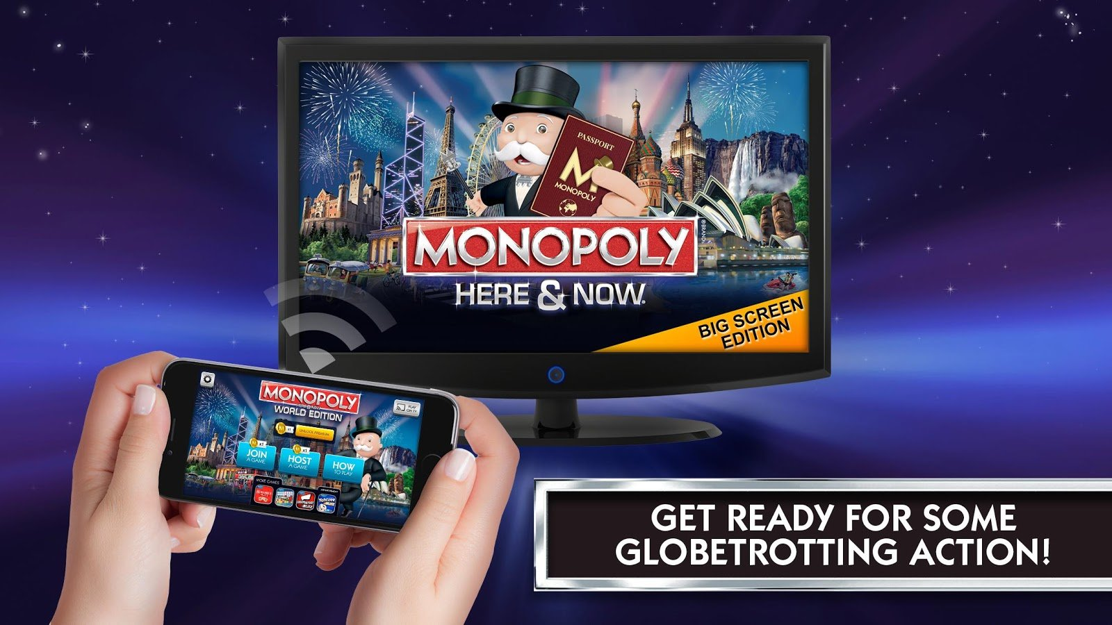 monopoly Cast remote