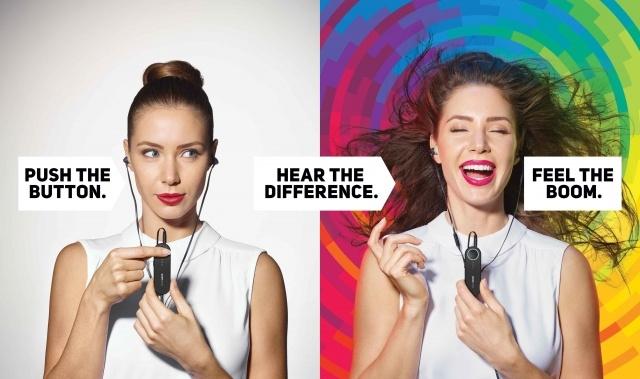 BoomsticK Mejora el sonido de los auriculares