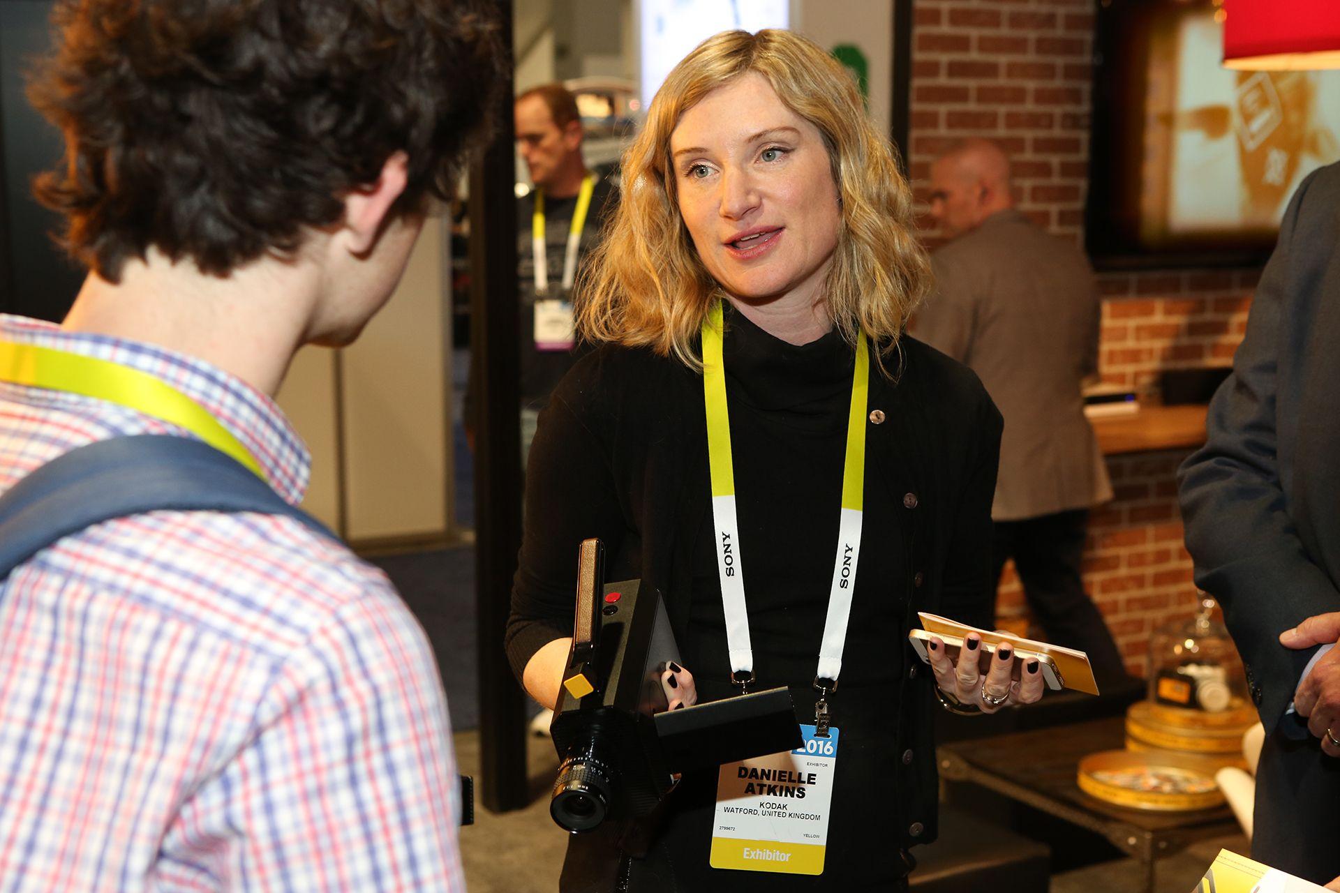 Danielle Atkins, directora global de la identidad de marca, Kodak