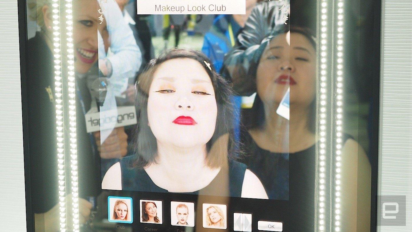 Espejos inteligentes de Panasonic te pueden cambiar el look