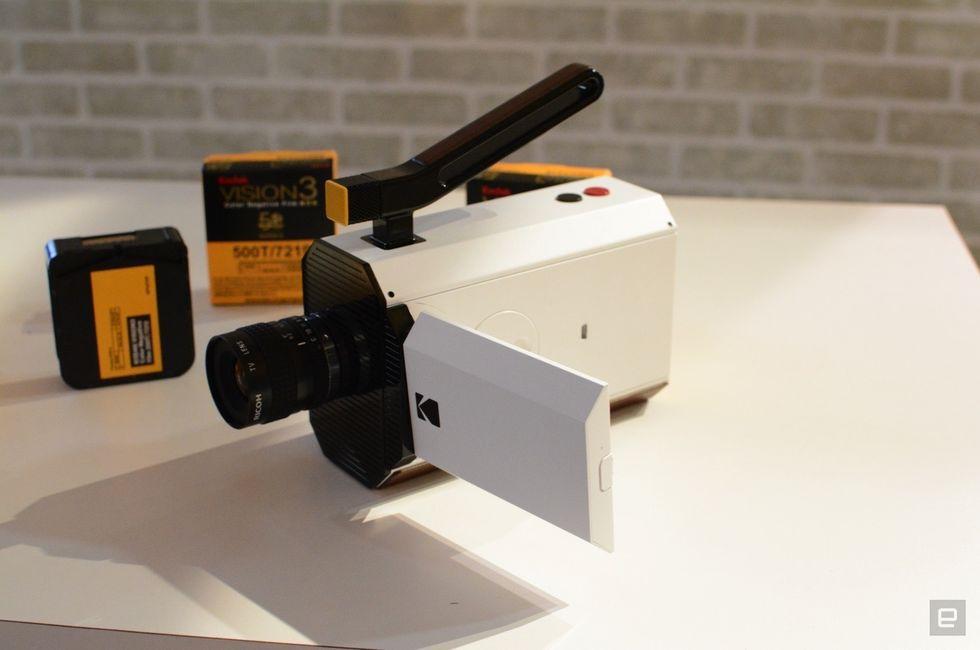 Kodak, Súper 8, prototipo práctico de la cámara