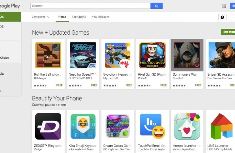 Play Store Android Google