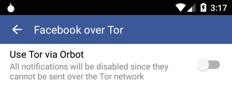 Use Tor via Orbot