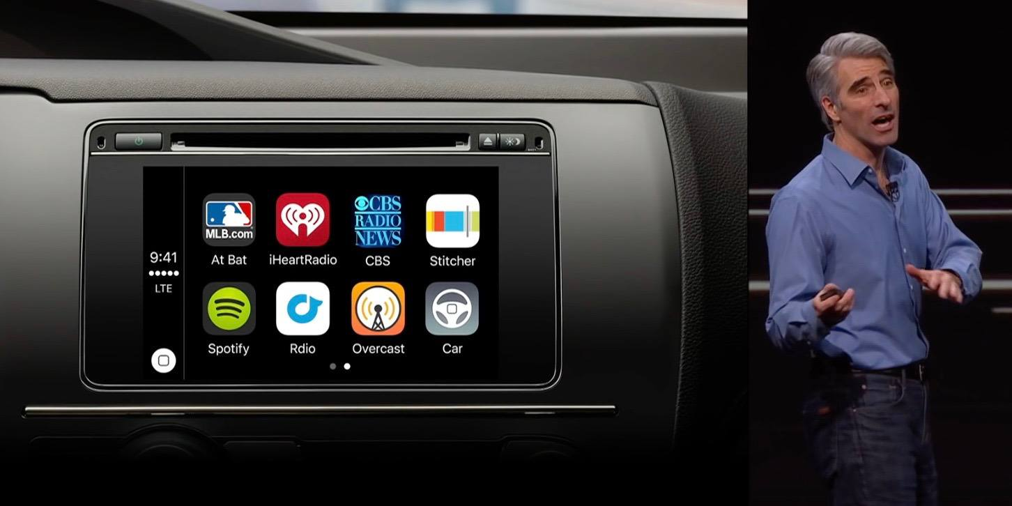 VW dice que Apple los detuvo de demostrar el CarPlay inalámbrico