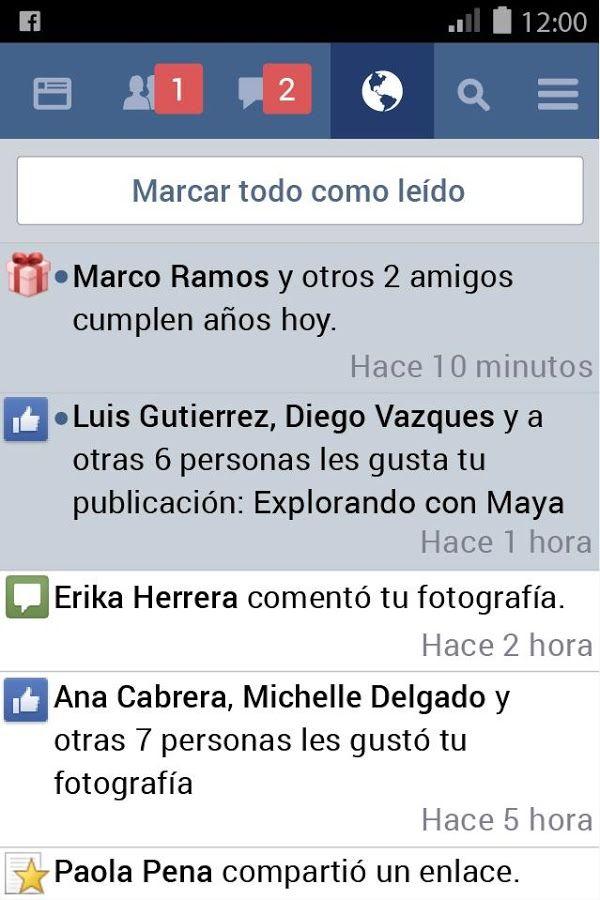 facebook aplicaciones Android