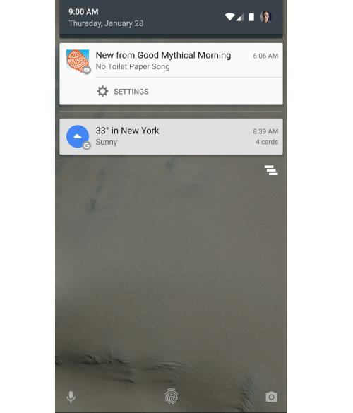 Anteriormente así lucían las notificaciones de YouTube en Android