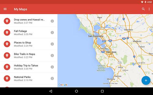 Actualización My Maps
