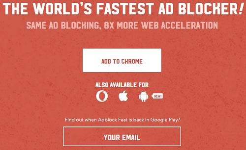 Adblock Fast Play Store