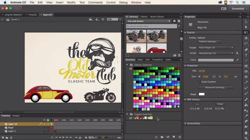 Adobe lanza el sucesor de Flash Professional