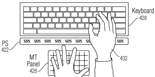 Apple obtiene patente sobre gestos sin toques a corta distancia