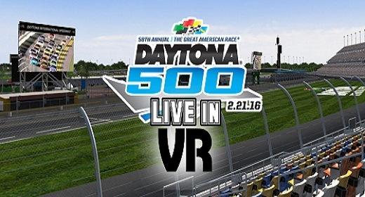 Carrera Daytona 500 será transmitida en realidad virtual