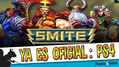 El juego en tercera persona Smite llega al PlayStation 4