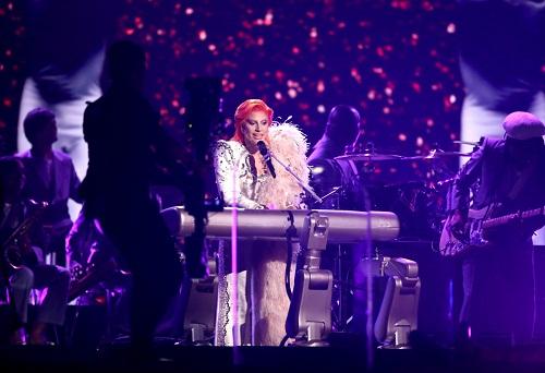El teclado robótico que uso Lady Gaga