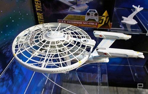 Explora los cielos con el nuevo drone USS Enterprise