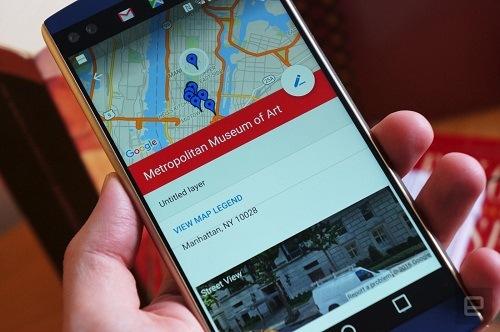 Google lanza actualización para My Maps de Android