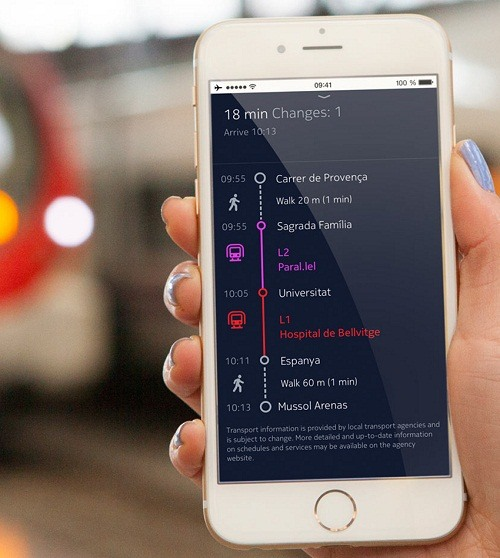 Here Maps iOS Apple