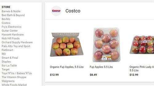 Manzanas de Costco