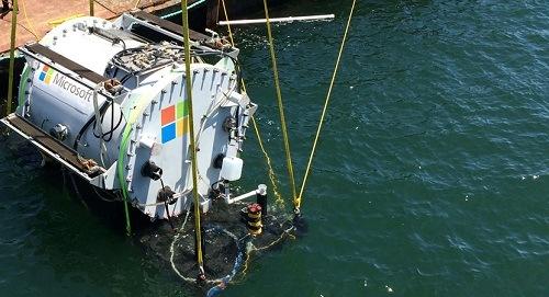 Proyecto Natick Microsoft Agua
