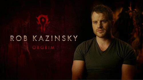 Robert Kazinsky asegura que el juego de Warcraft le salvo la vida