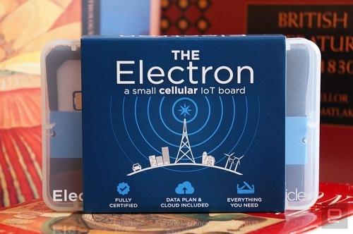 Tarjeta Electron de Particle