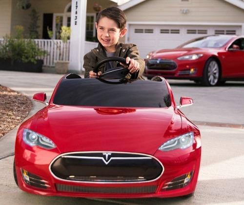 Tesla y Radio Flyer presentan Tesla Model S para niños