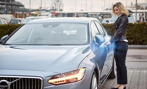 Volvo busca usar los smartphones como llaves de coche