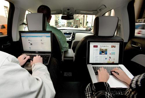 Wi-Fi dentro del auto