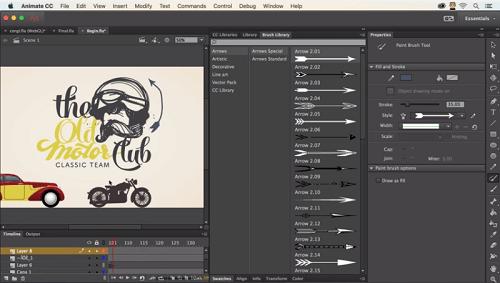 la de cambiar Flash Professional por Animate CC