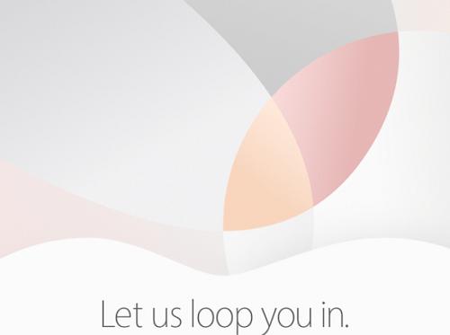 Apple 'Let us loop you in' event 21 de Marzo 2