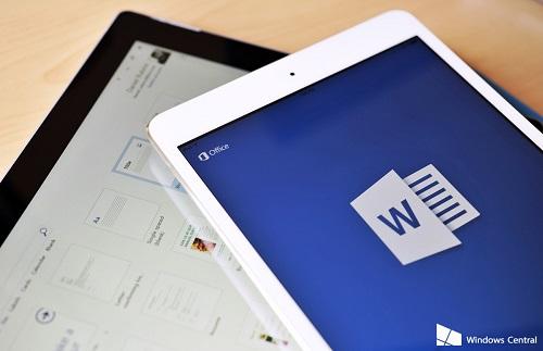 Apple ofrece Office 365 como un accesorio para su iPad Pro (1)