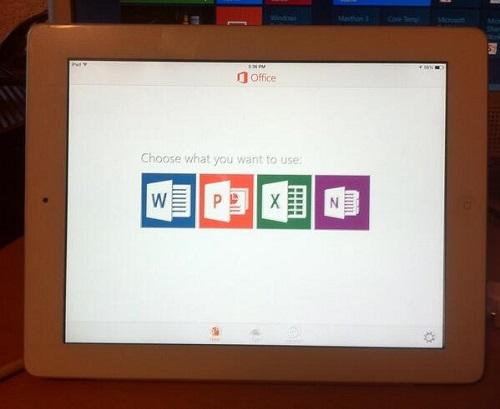 Apple ofrece Office 365 como un accesorio para su iPad Pro (2)