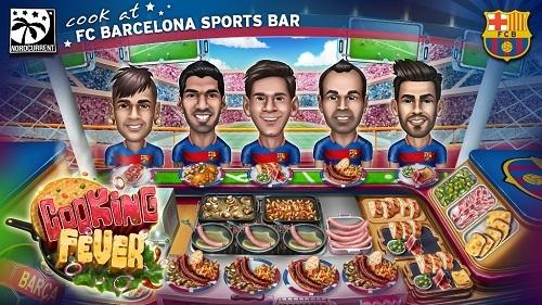 Cooking Fever se actualiza con un toque de fútbol club para aumentar su atractivo