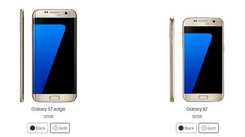 Galaxy S7 y Galaxy S7 Edge