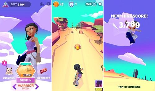 Infinite Skater ha sido elegido como la aplicación gratuita de la semana en la App Store