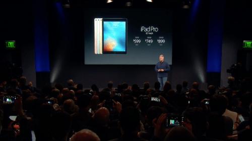 Nuevo iPad Pro de 9,7 pulgadas saldrá a la venta este 24 de marzo