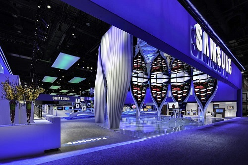 Samsung CES conference