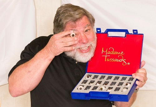 Steve Wozniak será inmortalizado en cera