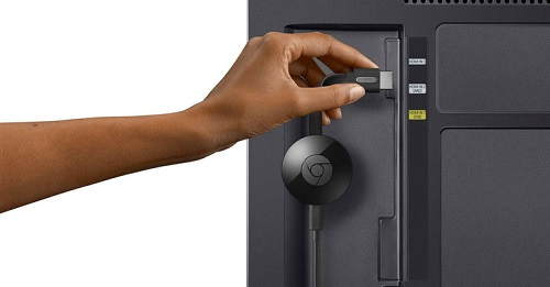 Televisor inteligente y Chromecast