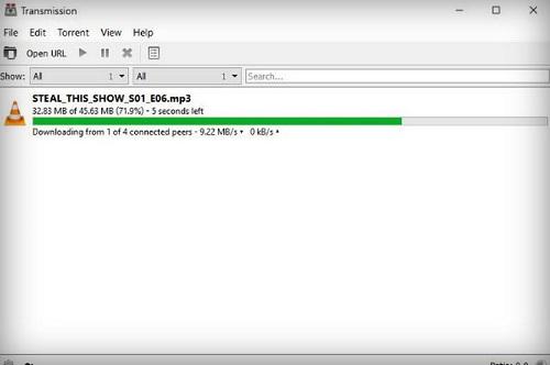 Transmission, la popular App de Torrents de Mac, ahora en Windows