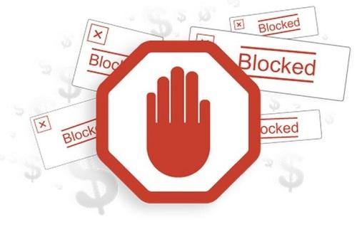 el servicio de Ad blocking
